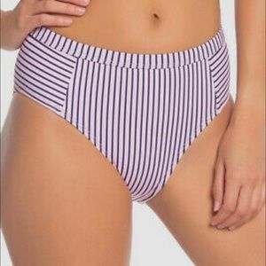 SPLENDID light pink high waist bikini bottoms